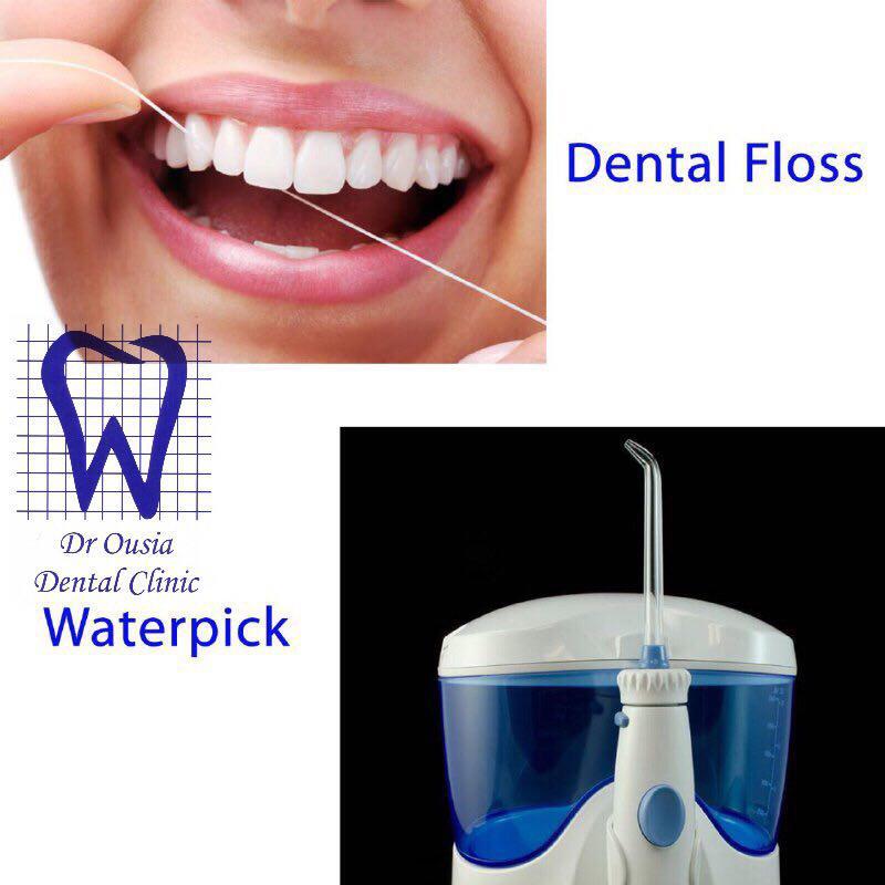 نخ دندان یا واتر پیک ؟