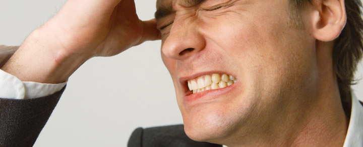 درمان دندان قروچه